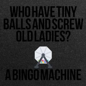 Who have tiny balls and screw old ladies? - Jersey Beanie