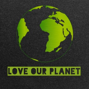 LOVE OUR PLANET - Jersey Beanie