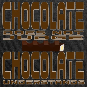 Chocolate does not judge, chocolate understands. - Jersey Beanie