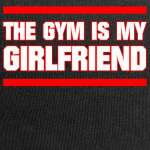 GYM IS MY GIRLFRIEND FITNESS JUNGS SPORT GESCHENK - Jersey-Beanie