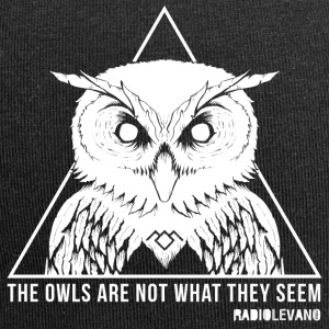 THE OWLS ARE NOT WHAT THEY SEEM - RADIOLEVANO - Beanie in jersey