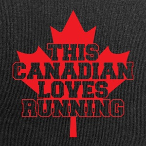 Questo canadesi piace running - Beanie in jersey