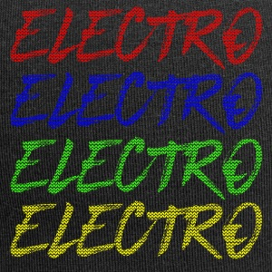 Electro Xmas Special - party musikk techno festival - Jersey-beanie