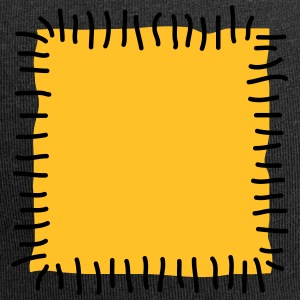 Patch reparatie Patchworkstoff naald hechtdraad - Jersey-Beanie