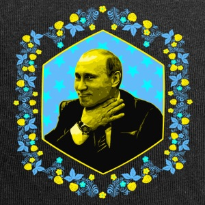 """Papà Loves You All!"" (Putin Portrait) da Ostap - Beanie in jersey"