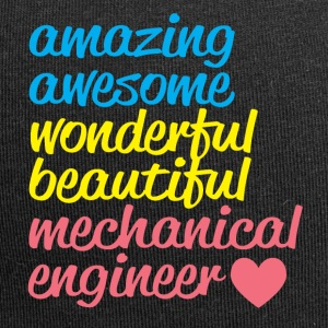 AMAZING AWESOME mechanical engineer - Jersey-Beanie