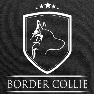BORDER COLLIE COAT OF ARMS - Jersey Beanie