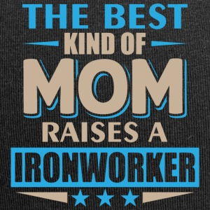 Mom Ironworker - Mother's Day - Jersey Beanie