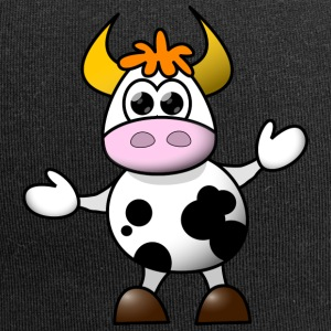 Cow cartoon 5 - Jersey Beanie