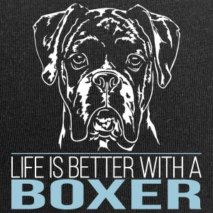 BOXER life is better - Jersey-Beanie