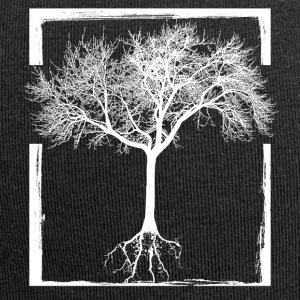 Mother Nature - frame tree forest life Root Earth - Jersey Beanie
