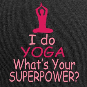 I do yoga whats your superpower? - Jersey Beanie
