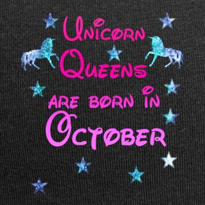 Unicorn Queens born October october - Jersey Beanie