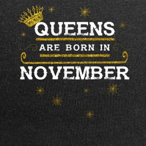 Queensborn NOVEMBER - Jersey Beanie