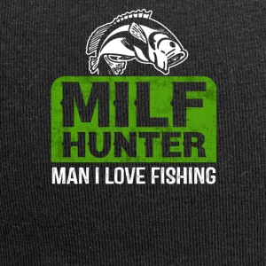 MILF HUNTER Man I love Fishing Angler Shirt - Jersey Beanie
