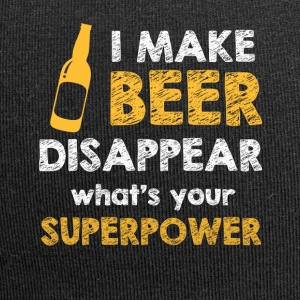 I make Beer disappear - Jersey-Beanie