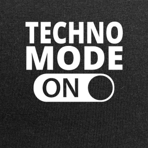 MODE ON TECHNO - Czapka krasnal z dżerseju