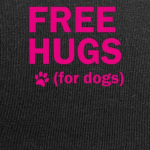 Free hugs for dogs - Jersey Beanie