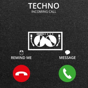 Ring Mobile Call TECHNO DJ ELECTRO - Jersey-beanie