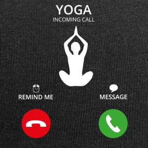 Call Mobile Call yoga - Jersey Beanie