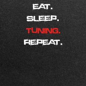 eat sleep repeat TUNING - Jersey Beanie