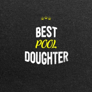 Distressed - BEST POOL DAUGHTER - Jersey Beanie
