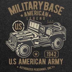 American Army Jeep - Jersey Beanie