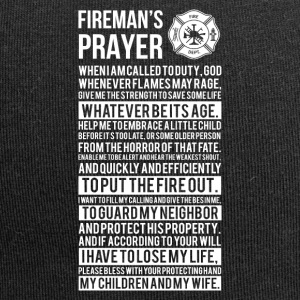 Firefighter pray gift - Jersey-Beanie