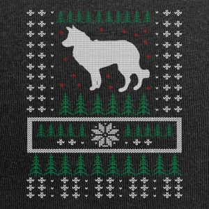 Border Collie Ugly Xmas Sweater Gift Christmas - Jersey Beanie