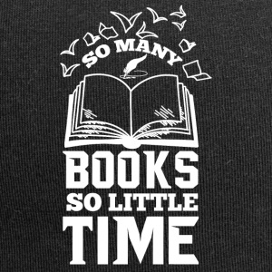 So many books so little time | für Leseratten - Jersey-Beanie