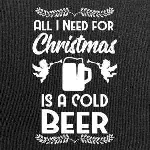 All I want Weihnacht Christmas Beer Bier Fest - Jersey-Beanie