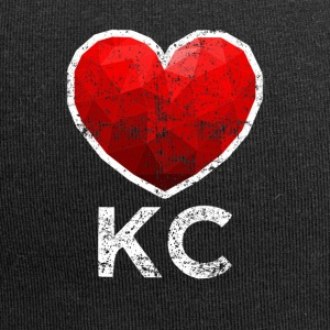 Kansas City Heart Tee Shirt Distressed - Jersey Beanie