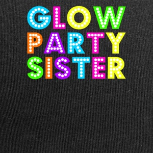 Glow Party Sister - Jersey-Beanie