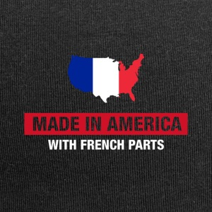 Made In America With French Parts France Flag - Jerseymössa