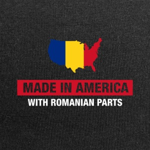 Made In America With Romanian Parts Romania Flag - Jerseymössa