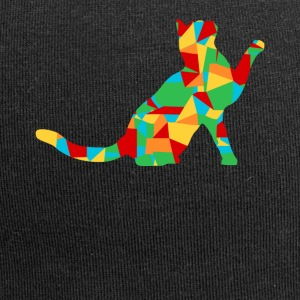 polygon cat - Jersey Beanie