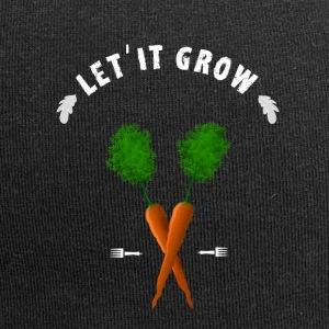 Garden grow plants sow nature ecology vegan - Jersey Beanie