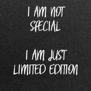 I am not special, i am just limited edition! - Jersey-Beanie