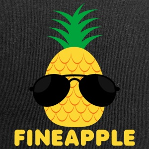 Fruits / fruits: Fine Apple - ananas - ananas - Bonnet en jersey