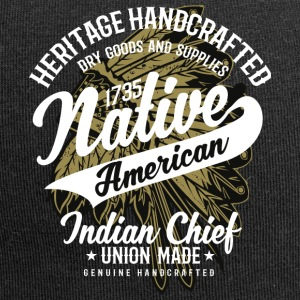 Native American Indian Chief - Jersey Beanie