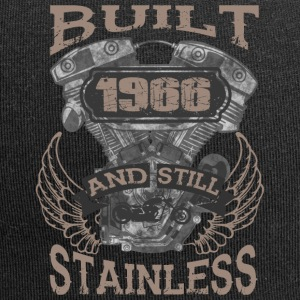 Built and even stainless biker born 1966 - Jersey Beanie