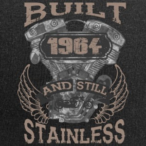 Built and even stainless biker born 1964 - Jersey Beanie