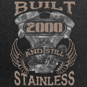 Built and even stainless biker born 2000 - Jersey-Beanie