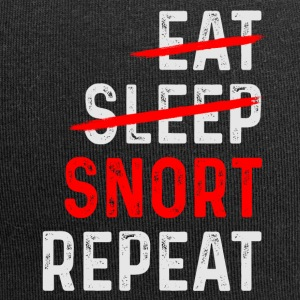 SNORT REPEAT - Jersey Beanie
