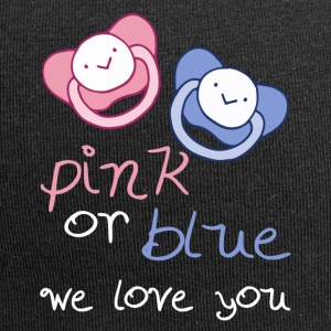 Pink Or Blue We Love You - Jersey-Beanie