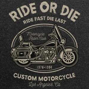Ride or Die - Beanie in jersey