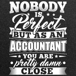 Funny Accounting Accountant Shirt Nobody Perfect - Jersey-Beanie
