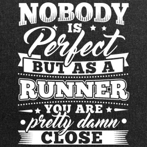Grappig Lopend Runner shirt Nobody Perfect - Jersey-Beanie