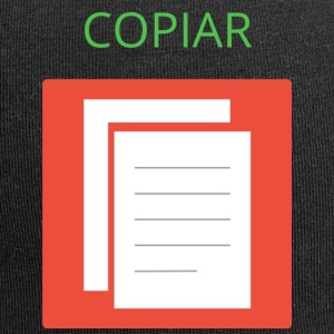 Copier coller. Ctrl + C - Bonnet en jersey