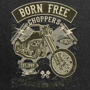 Choppers Born Free. Rétro moto et Chopper shirt - Bonnet en jersey